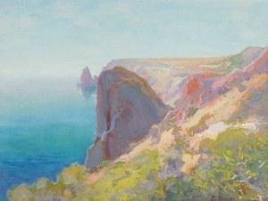 Iwan TRUSZ (1869-1940), Pejzaż krymski - wybrzeże