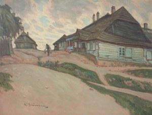 Abraham NEUMAN (1873-1942), Chaty o zmierzchu