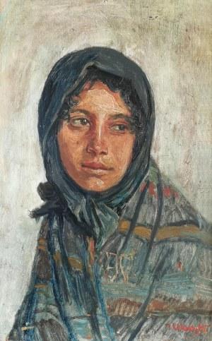 Teodor WACYK (1886-?), Dziewczyna w chuście