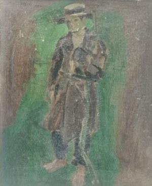 Wlastimil HOFMAN (1881-1970), Parobek - szkice - praca dwustronna, ok. 1910