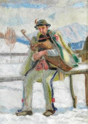 Antoni TESLAR (1898-1972), Dudziarz, 1923