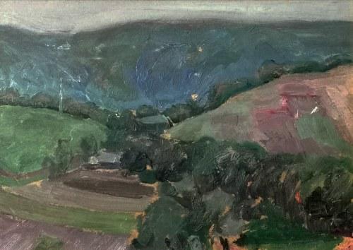 Jerzy KARSZNIEWICZ (1878-1945), Pejzaż podgórski