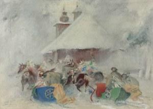 Jan GĄSIENICA-SZOSTAK (1895-1943), Weselna sanna, 1941
