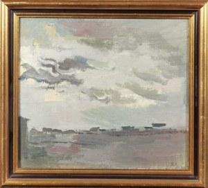 Adam SIEMIANOWICZ (1902-1970), Pejzaż z Tawdy, 1948
