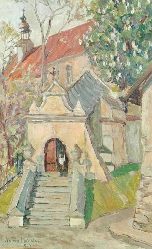 Antoni MICHALAK (1899-1975), Klasztor Franciszkanów w Kazimierzu Dolnym, 1947