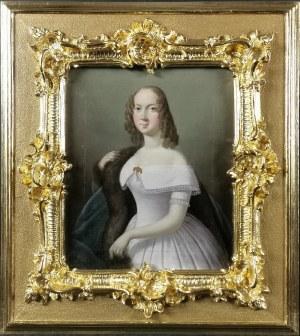 Malarz nieokreślony, XVIII / XIX w., Portret Franciszki Krasińskiej
