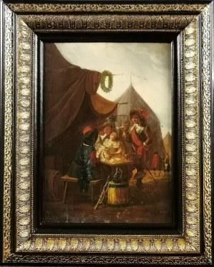 Malarz nieokreślony, XVIII w. (?), Gra w karty