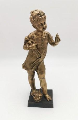 Léon PILET (1840-1916), Dziewczynka z lalką