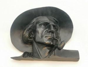 Portret górala z fajką