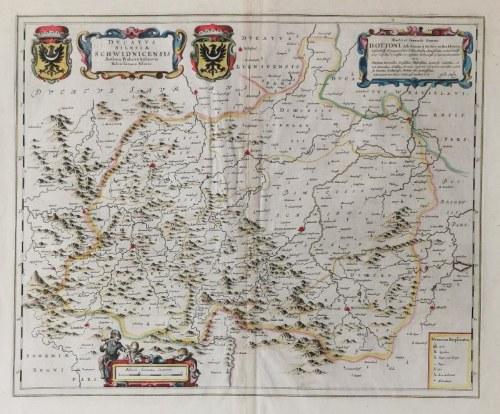 Fridericus KUHN (? - 1675), Mapa Księstwa Świdnickiego