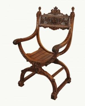 Fotel w stylu mebli neorenesansowych