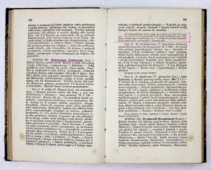 CZERWIAKOWSKI Ignacy Raf[ał] - Botanika lekarska do wykładów, oraz dla użycia lekarzów i aptekarzów. Kraków 1861. Nakł