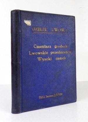 BIBLIOTEKA Lwowska - trzy tomy razem oprawione