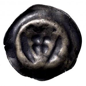 Zakon Krzyżacki, brakteat mała tarcza zakonna, 1305-1315