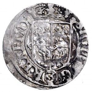 Zygmunt III Waza, półtorak 1620, Ryga - lis u góry i herb Rygi na dole