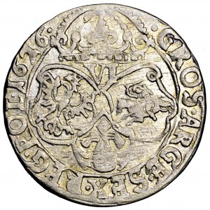 Zygmunt III Waza, szóstak 1626, Kraków, kropka po dacie