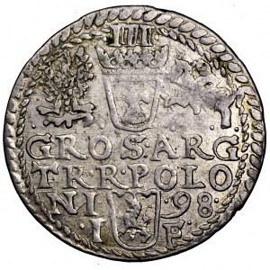Zygmunt III Waza, trojak 1598, Olkusz - Iger nie notuje
