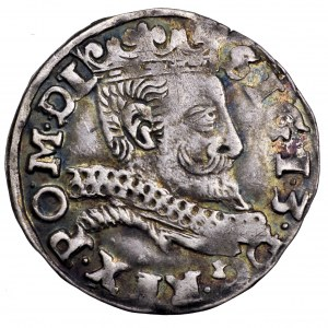 Zygmunt III Waza, trojak 1598, Wschowa - rzadki