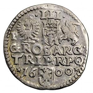 Zygmunt III Waza, trojak 1600, Poznań - gwiazdki