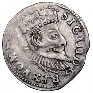 Zygmunt III Waza, trojak 1597, Poznań