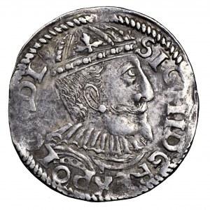 Zygmunt III Waza, trojak 1595, Bydgoszcz - rzadszy