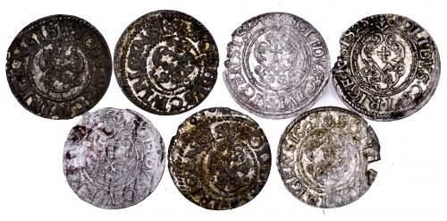 Szwedzka okupacja Rygi i Inflant, Gustaw Adolf, zestaw 7 szelągów