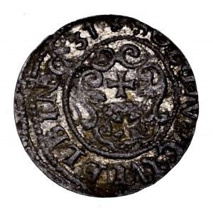 Gustaw Adolf, szeląg 1631, Elbląg - piękny
