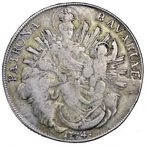 Niemcy, Bawaria, Maksymilian Józef, talar 1774