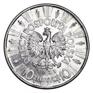 II Rzeczpospolita, 10 złotych 1939, Piłsudski