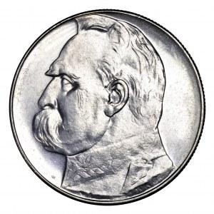 II Rzeczpospolita, 10 złotych 1936, Piłsudski - piękny