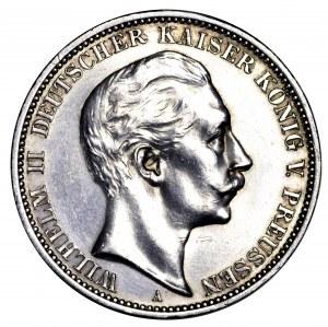 Niemcy, Prusy, 3 marki 1909 A