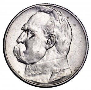 II Rzeczpospolita, 5 złotych 1934, Piłsudski, strzeleckie