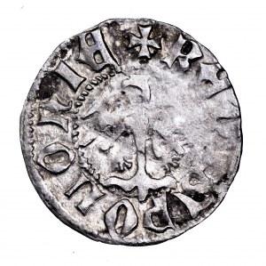 Władysław Jagiełło, półgrosz koronny, Kraków - bez litery, mała korona