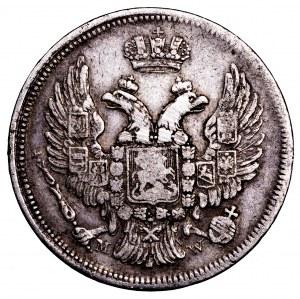Zabór Rosyjski, 1 złoty/15 kopiejek 1835 MW