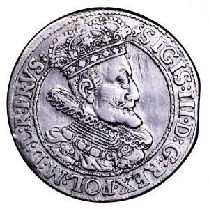 Zygmunt III Waza, ort 1615, Gdańsk - portret z szeroką kryzą