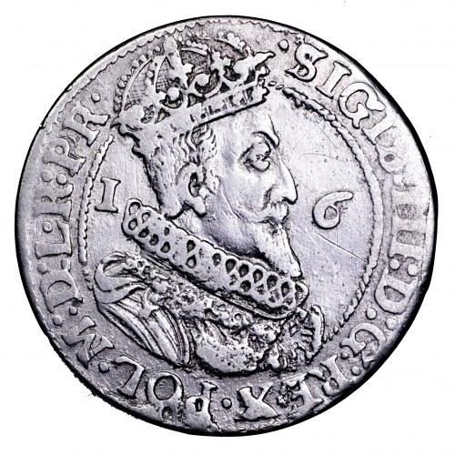 Zygmunt III Waza, ort 1624, Gdańsk - data bez przebitki