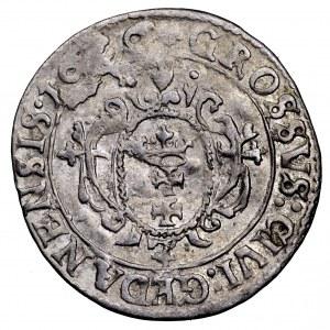 Zygmunt III Waza, grosz 1626, Gdańsk - ładny