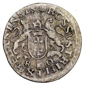August III Sas, trojak 1763 REOE, Gdańsk