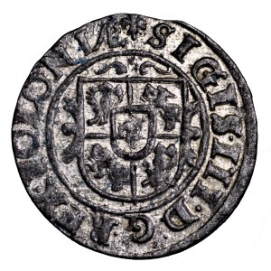 Zygmunt III Waza, szeląg 1626, Bydgoszcz - piękny