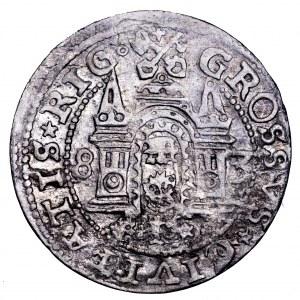 Stefan Batory, grosz 1583, Ryga - ładny