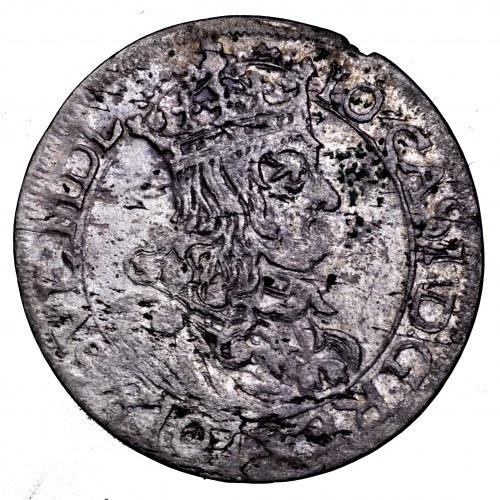 Jan II Kazimierz, szóstak 1663 AT - ładny