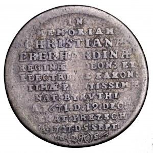 August II Mocny, Dwugrosz pamiątkowy 1727 IGS, Drezno - Cyprys