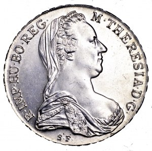 Austria, Maria Teresa, talar 1780 - nowe bicie