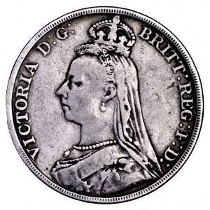 Wielka Brytania, Wiktoria, korona 1890