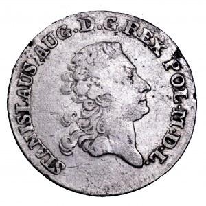 Stanisław Poniatowski, złotówka 1780 EB - rzadkość