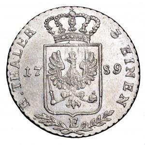 Niemcy, Prusy, 1/3 talara 1789 E, Królewiec - ładne