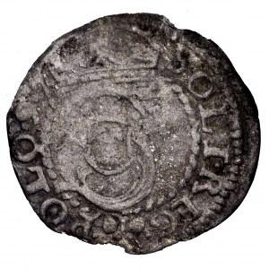 Zygmunt III Waza, szeląg 1597 I-F, H-R, Poznań - rzadki