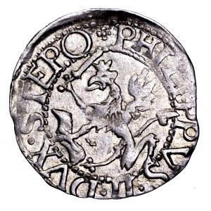Pomorze, Filip II, grosz 1617, Szczecin - piękny