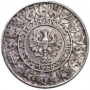 PRL, 100 złotych 1966, Mieszko i Dąbrówka - piękne