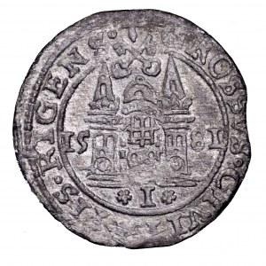 Stefan Batory, grosz 1581, Ryga - brama